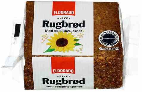 Bilde av Eldorado rugbrød med solsikkekjerner.
