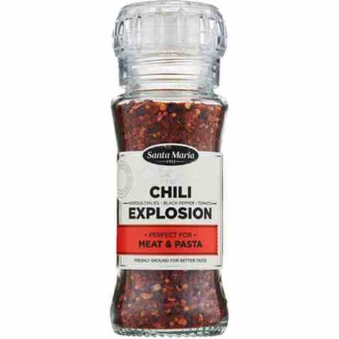 Bilde av Santa maria chili explosion.