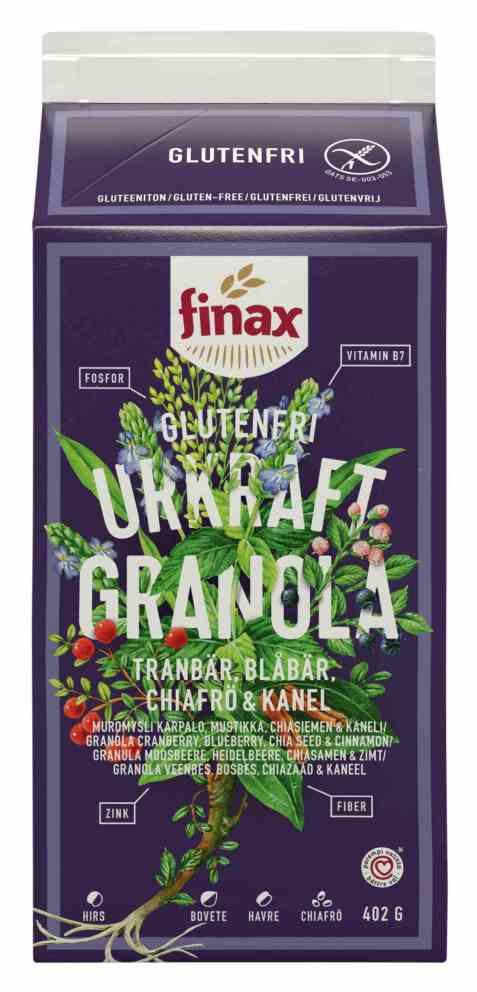 Bilde av Finax glutenfri eple og kanel cookies.