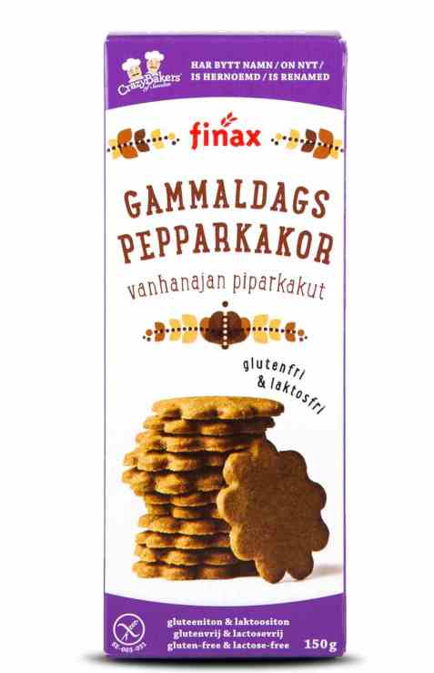 Bilde av Finax glutenfri gammeldags pepparkakor.
