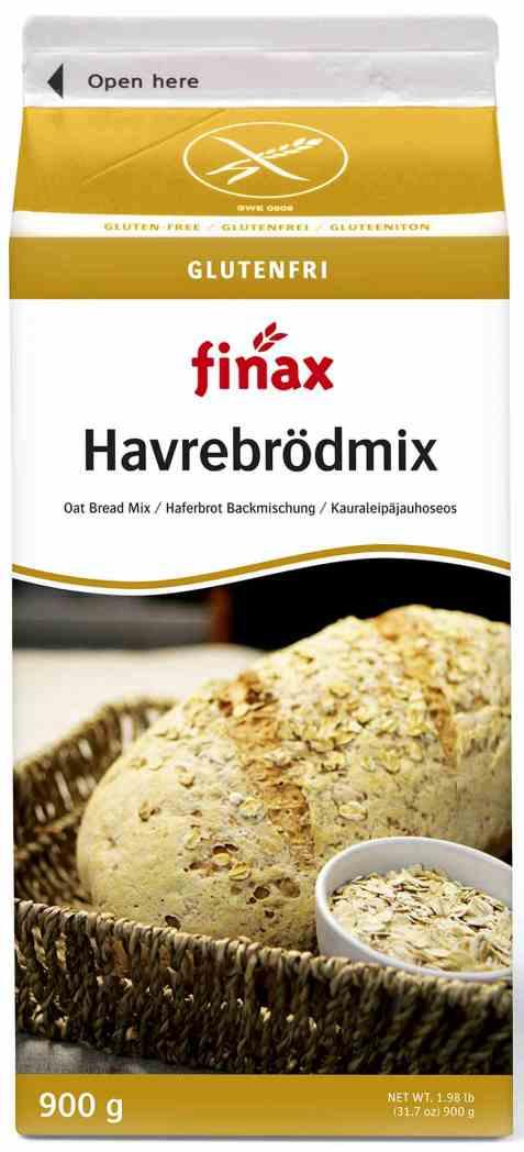 Bilde av Finax glutenfri havrebrødmix.
