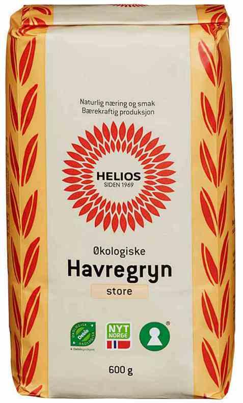 Bilde av Helios havregryn store.