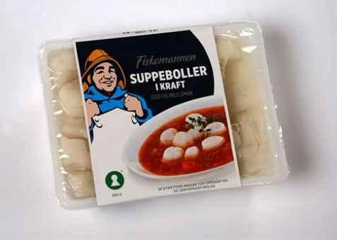 Bilde av Fiskemannen suppeboller.