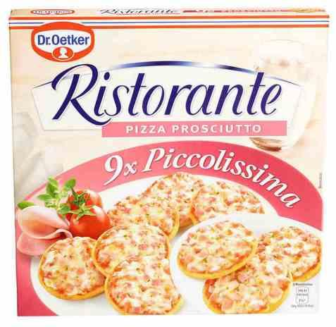 Bilde av DrOetker Ristorante Piccolissima Prosciutto.