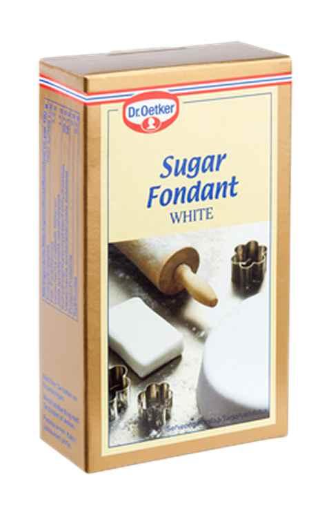 Bilde av DrOetker hvit Sukkerfondant.