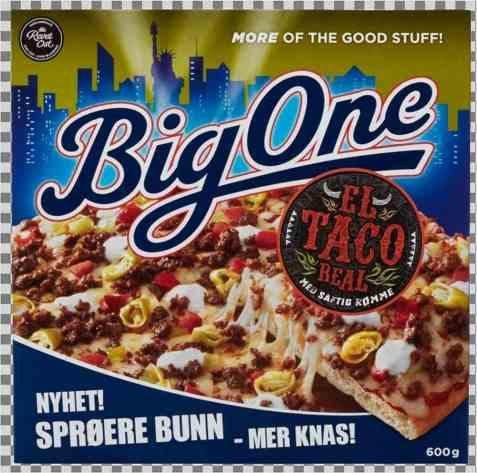 Bilde av Big One El Taco Real.