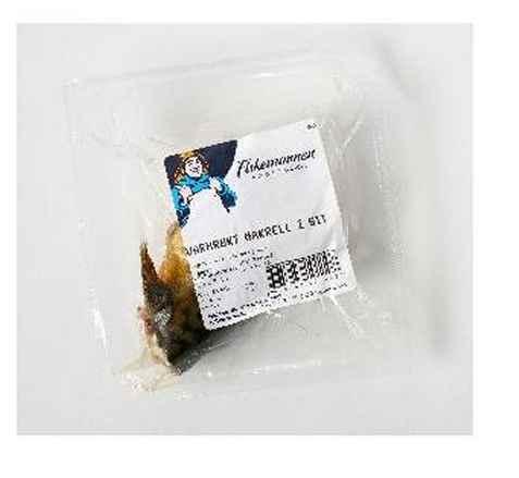 Bilde av Fiskemannen makrell i bit varmrøkt.