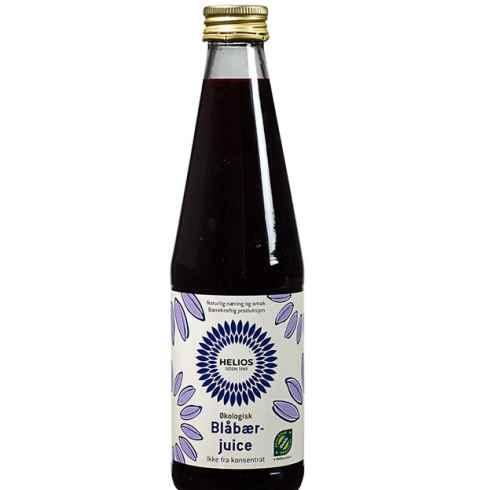 Bilde av Helios blåbærjuice.
