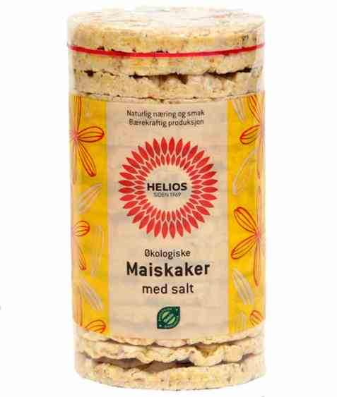 Bilde av Helios maiskaker med salt.
