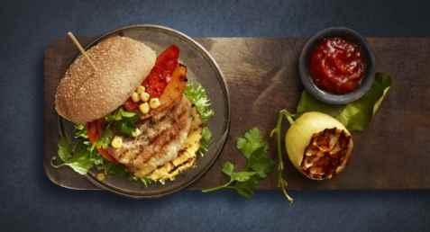 Bilde av Lofoten Perfekt Grillfisk Grillburger mild BBQ.