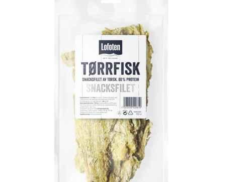 Bilde av Lofoten tørrfisk snacksfilet.