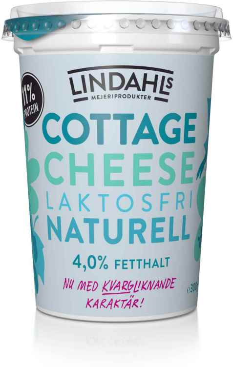 Bilde av Lindahls cottage cheese naturell laktosfri.