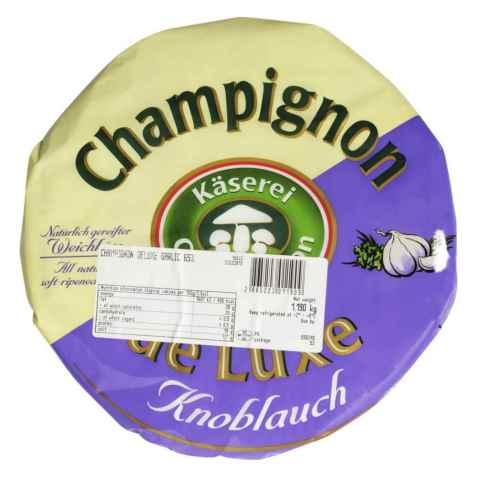 Bilde av Champignon brie med hvitløk.