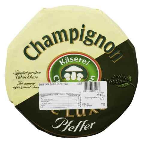 Bilde av Champignon brie med pepper.