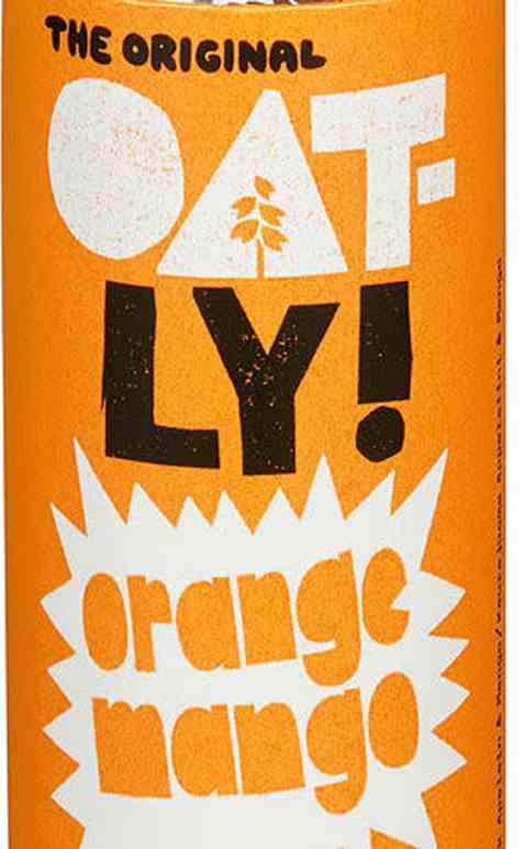 Bilde av Oatly natural energy appelsin og mango.