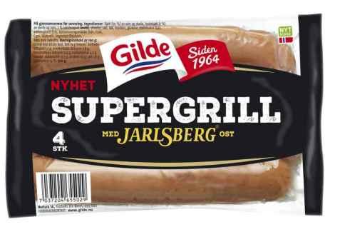 Bilde av Gilde supergrill med jarlsberg.