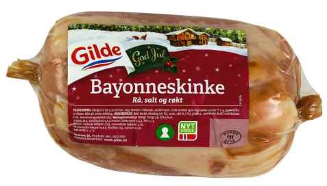 Bilde av Gilde Bayonneskinke, rå, salt og røkt.