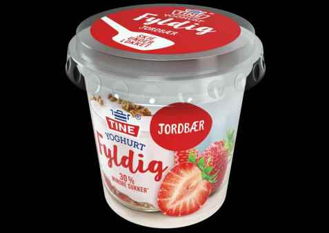 Bilde av TINE Yoghurt fyldig jordbær.