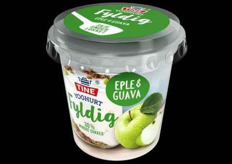 Bilde av TINE Yoghurt Fyldig Eple & Guava.