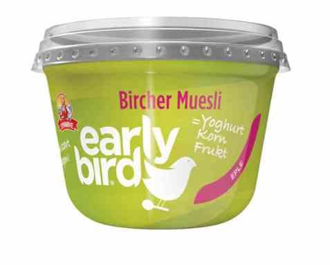 Bilde av Synnøve Early Bird Bircher Müsli med yoghurt, eple og havre..