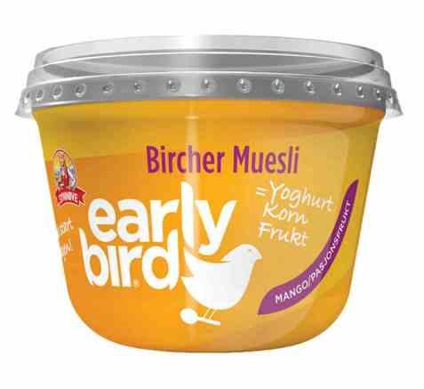 Bilde av Synnøve Early Bird Bircher Müsli med yoghurt, mango og havre.