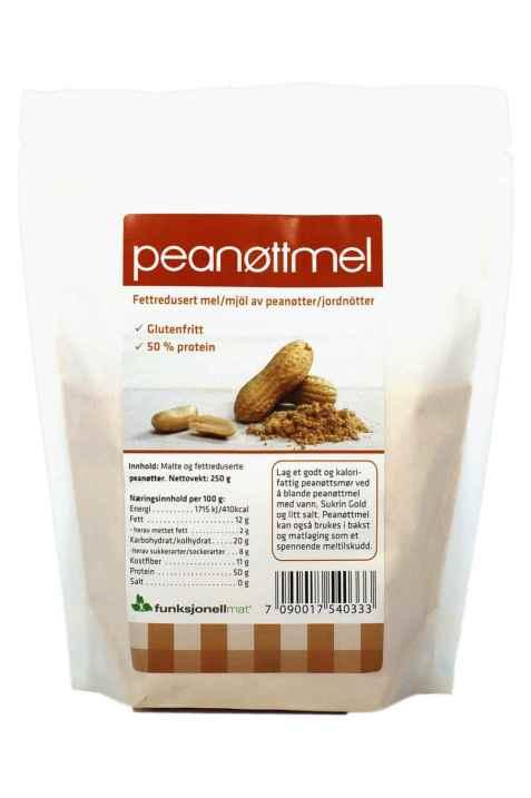Bilde av Funksjonell mat peanøttmel.