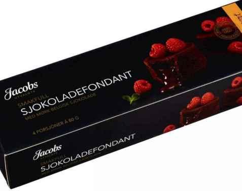Bilde av Jacobs Utvalgte sjokoladefondant.