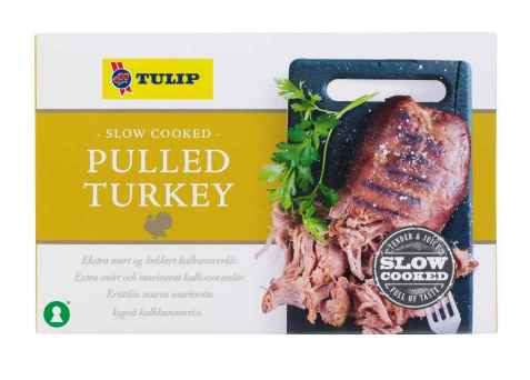 Bilde av Tulip Pulled Turkey.