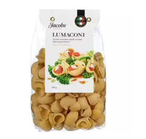 Bilde av Jacobs Utvalgte pasta lumaconi.