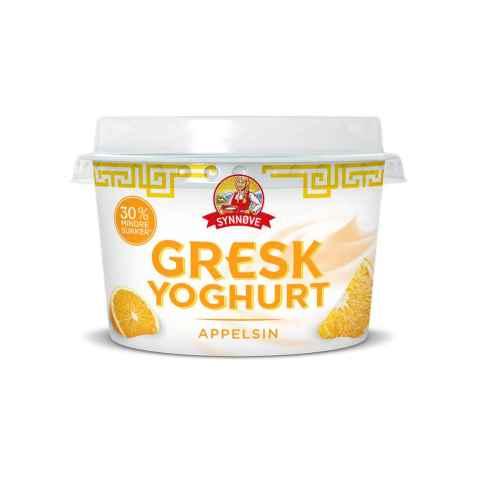 Bilde av Synnøve gresk yoghurt appelsin.