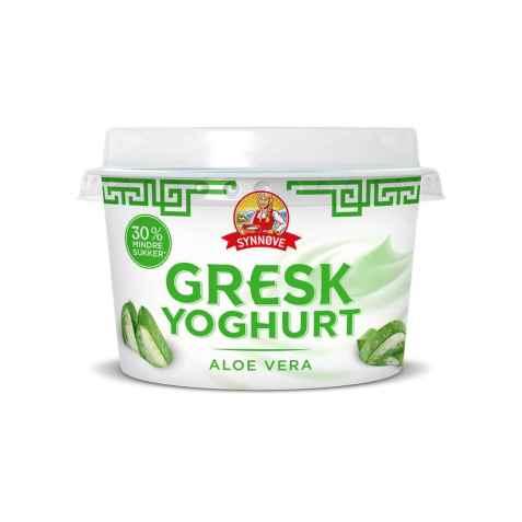 Bilde av Synnøve gresk yoghurt Aloe vera.