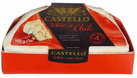 Bilde av Arla castello Creamy White red chili.