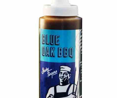 Bilde av Sticky Fingers BBQ saus Blue Oak.