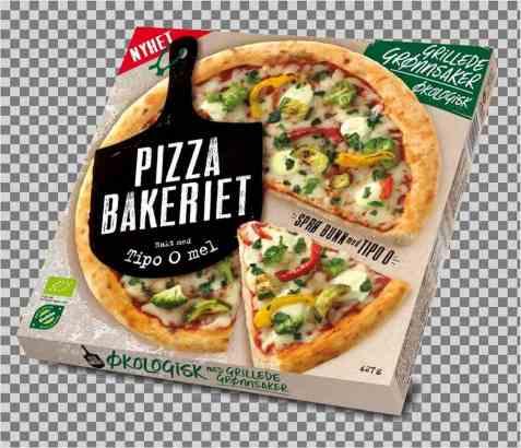 Bilde av Pizzabakeriet grillede grønnsaker.