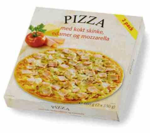 Bilde av Rema 1000 Pizza skinke.