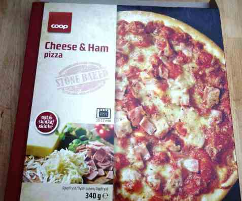 Bilde av Coop Pizza Cheese and ham.