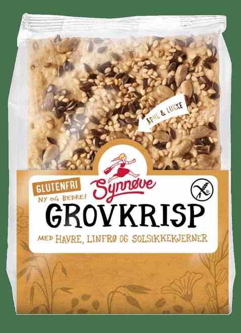 Bilde av Synnøve glutenfri grovkrisp.