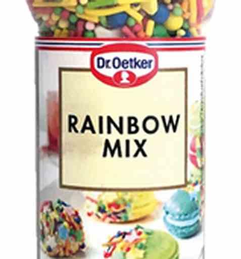 Bilde av DrOetker Rainbow Mix.