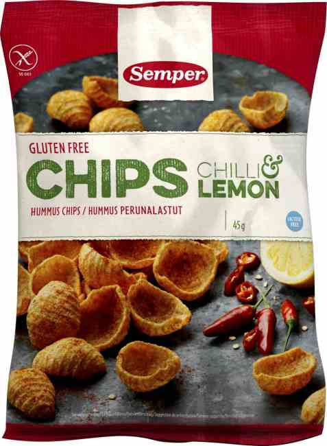 Bilde av Semper chips chili and lemon.