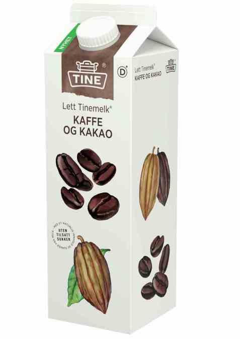 Bilde av Tine melk med kaffe og kakao.