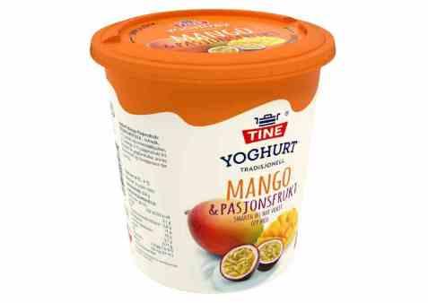 Bilde av TINE Yoghurt Mango/Pasjonsfrukt.