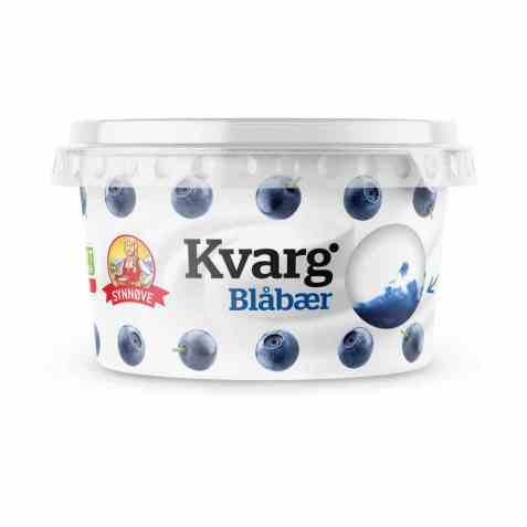 Bilde av Synnøve kvarg blåbær.