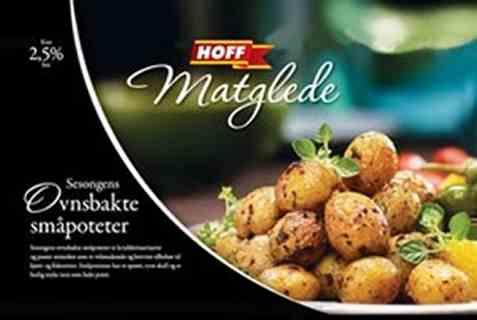 Bilde av Hoff Matglede ovnsbakte småpoteter.