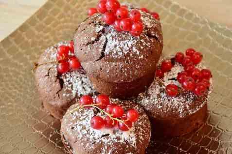 Bilde av Muffins, med kakao.