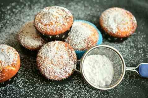 Bilde av Muffins, med sitron.