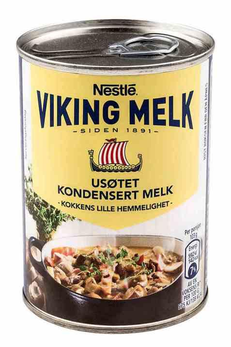 Bilde av Nestle usøtet Vikingmelk.