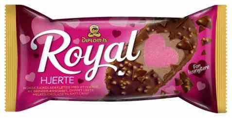 Bilde av Diplom royal hjerte.