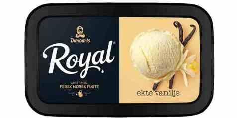 Bilde av Diplom-is Royal vanilje fra madagaskar.