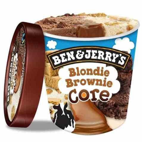 Bilde av Ben and Jerry blondie brownie.