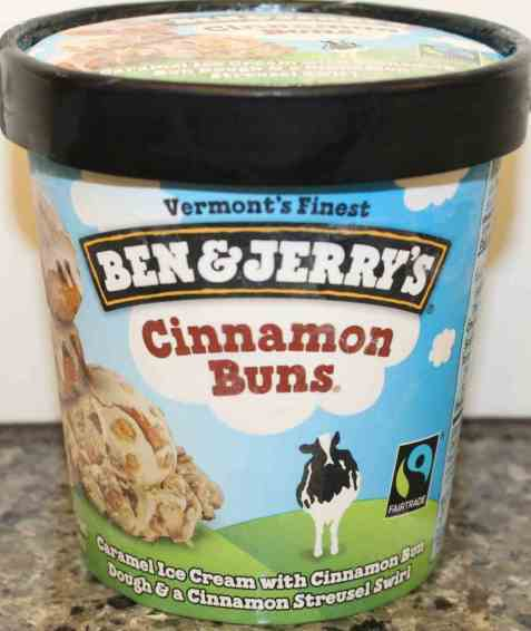 Bilde av Ben and Jerry Cinnamon Buns.